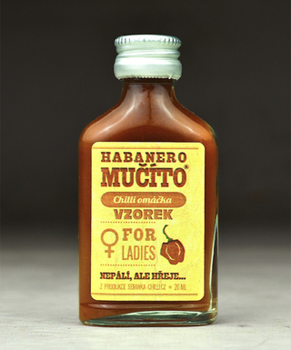 Omáčka Habanero Mučíto for Ladies vzorek